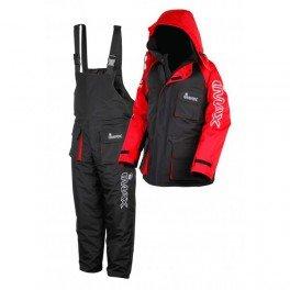 Imax Thermo Anzug Sea Fishing Clothing (2teilig), Mehrfarbig (schwarz/rot), Gr. S