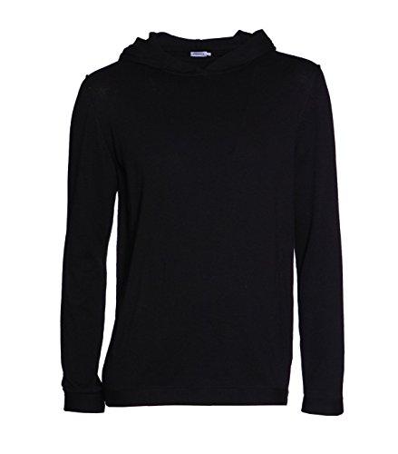 filippa-k-herren-sweatshirt-hoodie-kapuzenjacke-baumwolle-schwarz-black-l