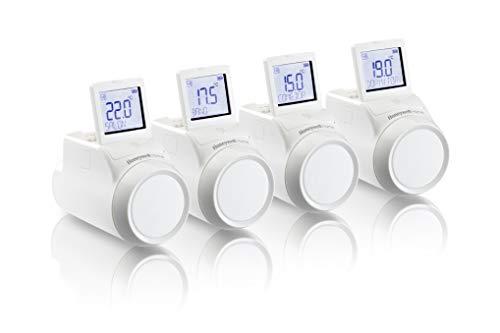 Honeywell Home THR0924HRT Kit 4 x Controlador inalámbrico de radiador