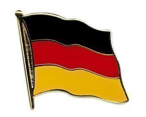 Yantec Flaggenpin Deutschland Pin Flagge