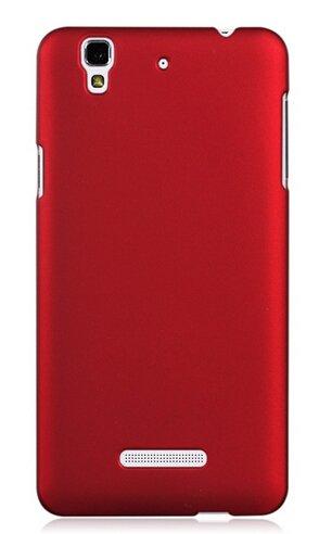 WOW Imagine(TM) Rubberised Matte Hard Case Back Cover For Micromax YU Yureka / Yureka Plus (Maroon Wine Red)