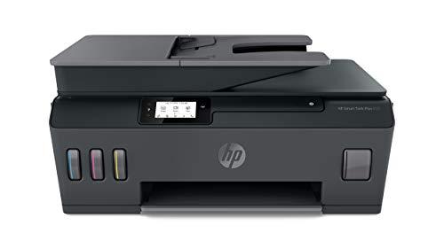 HP Smart Tank Plus 655 - Impresora multifunción inalámbrica (imprime, copia y escanea desde el móvil), Fax, Bluetooth, conectividad Wi-Fi, incluye hasta 3 años de tinta, negro