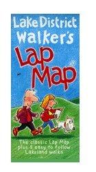 Lake District Walker's Lap Map