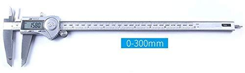 Nfudishpu Electronic Digital Messschieber, Mikrometer Robustes Messwerkzeug aus Edelstahl Messschieber Auto-Off-Funktion mit großem LCD-Bildschirm 0,01 mm IP54-Schutz