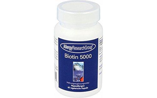 Allergy Research Group Biotin 5000 60 Kapseln -