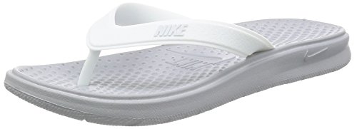Nike Damen WMNS Solay Thong Fitnessschuhe, Mehrfarbig (Wolf Grey/Pure Platinum/White 003), 38 EU Fitness-thong