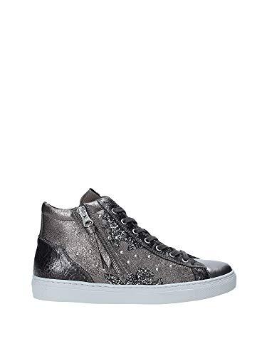 Sneaker alte nerogiardini a908965d101 a908965 8965 scarpe donna in pelle 39
