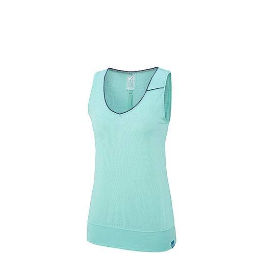 MILLET Damen Ärmelloses Hemd, Turquoise, M