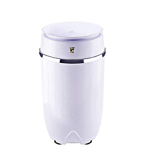 LXDDP Tragbare Waschmaschine Kleine Kinder Waschmaschine 3,5 kg/7,7 kg Waschkapazität Halbautomatische Waschmaschine Blu-Ray bakteriostatisch