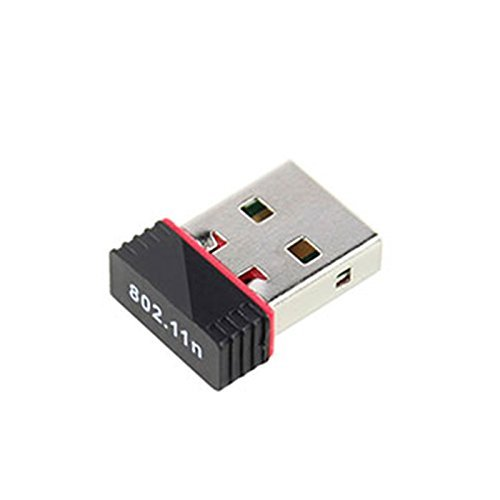 Electomania™ Wi-Fi Receiver 300Mbps, 2.4GHz, 802.11b/g/n USB 2.0 Wireless Mini Wi-Fi Network Adapter