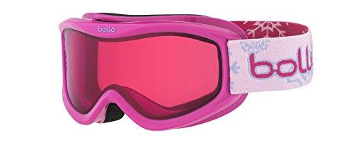 Bollé Kinder Skibrille AMP Snow Vermillon, Pink, OSFJ, 21520
