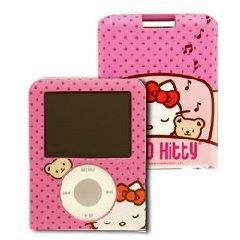 Hello Kitty Case, Gehäuse, Schutzhülle oder Tasche, kompatibel mit Apple 3 G IPOD, passt für IPOD nano, pink