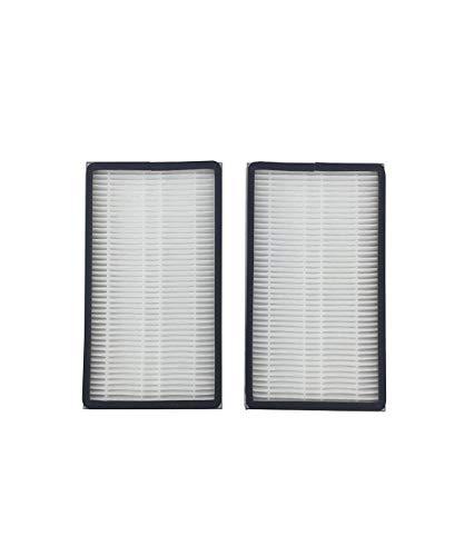 Vaycally 2PC Filterelement Hepa Filter Ersatz Zubehör für Kenmore EF-1 86889 Luftreiniger Zubehör, aus hochwertigem Material - Panasonic Ersatz-filter