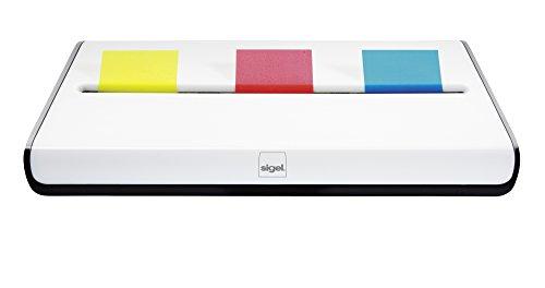 Sigel SA109 Haftmarker Spender mit 150 Markern, eyestyle weiß