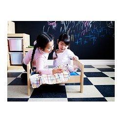 IKEA DUKTIG - cama Doll-s con juego de ropa de cama, pino, multicolor