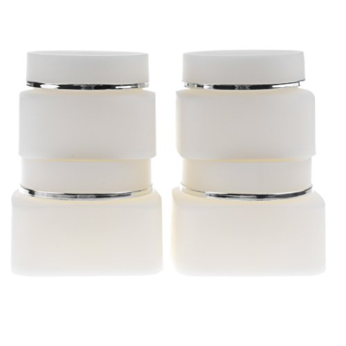 MagiDeal 4 Pieces Premium Makeup Jar Pot Face Skin Cream Empty Travel Refillable Container 30g and 50g