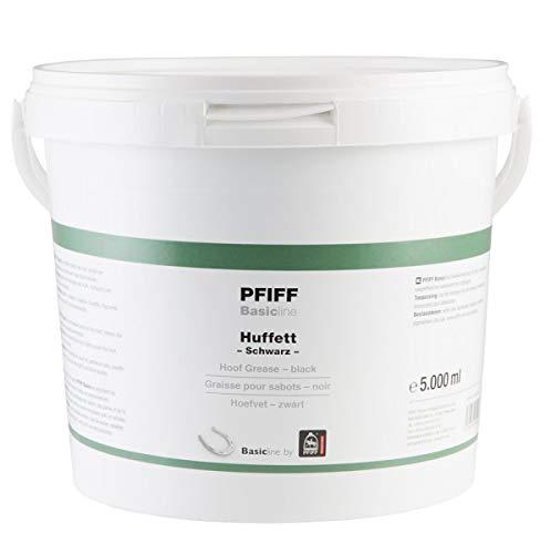 Pfiff Basicline Huffett, Pferde Hufpflege, Lorbeerextrakt, Wachse, schwarz, 5000 g