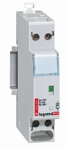 Preisvergleich Produktbild Legrand LEG92761 Überspannungsschutz komplette Reihe analog Telefon geschützt, Monoblock, 1p