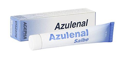 Azulenal® Salbe zur Wundheilung Für Brust und Baby. Wundschutzcreme für Baby Popo, Ekzem, wunde Brustwarzen. Natürlich Entzündungshemmend Heilend (Sulfat-salbe)