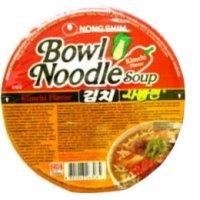 Nong Shim Bowl Noodle Soup Kimchi Flavor 86g Soup Bowl Asiatische
