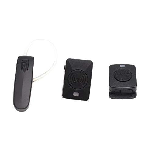 P Prettyia Auricolare Bluetooth Walkie Talkie Microfono PPT per Kenwood Baofeng Woxun