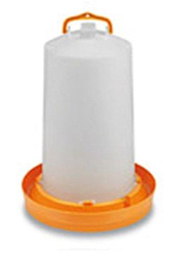 Abreuvoir plastique orange avec bouchon et anse 10L