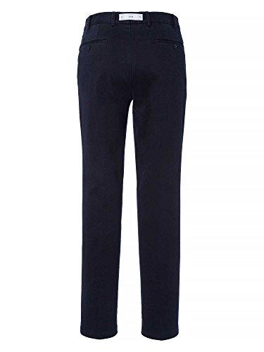 Hiltl Messieurs Pantalon business Coupe moderne bleu foncé