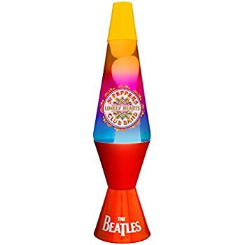 Lava Lamp The Beatles Lamp - Sgt Peppers: Amazon.co.uk: Lighting