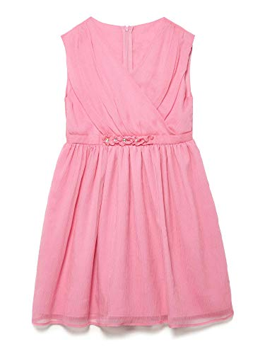 Yumi Girl Crinkle Chiffon Embellished Party Dress (Girls Embellished Dress)