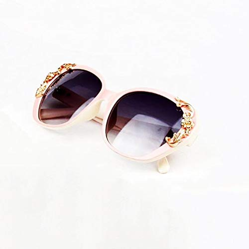 JOLLY Retro Sonnenbrille Eyewear Big Frame für Radfahren Laufen Fahren Angeln Golf Baseball Gläser, Muttertagsgeschenke, UVA & UVB Schutz (Farbe : Rosa)
