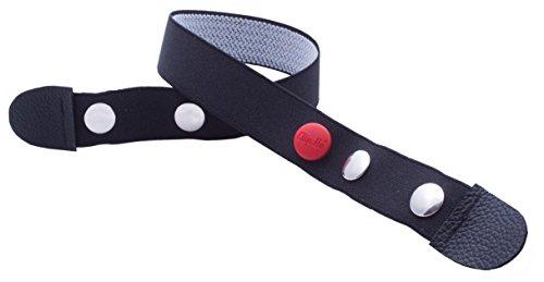 Clip.Ho - Der Gürtel ohne Schnalle, Elastischer Gürtel schwarz Gr. 74 - 182 (116, schwarz) -