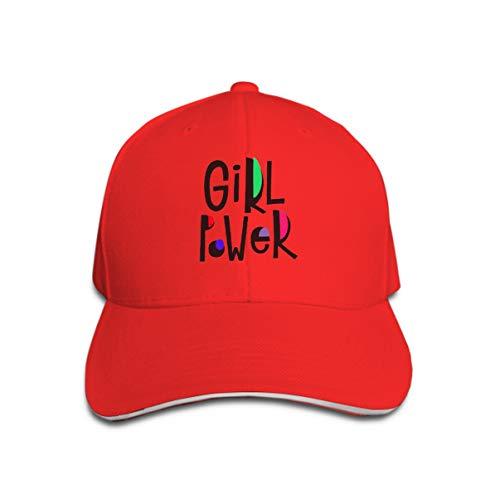 Girl Power Cap (Xunulyn Men Women Classic Denim Adjustable Baseball Cap Girl Power Quote Lettering Girl Power Quote Feminist Lettering Calligraphy Inspiration Graphic)