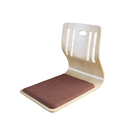 LGQ-LIFE Lazy Summer Wood Stuhl, Lazy Bench Bed Chair, Bay Window Chair Rücksitz Legless Chair, Teen Lesen Lazy Sofa Für Schlafzimmer (Color : B) (Lesen Teen)