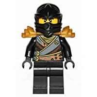 LEGO Ninjago: Minifigure Cole - Rebooted - with shoulder armor and sword