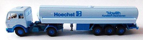 Wiking - Hoechst - Mowilith Kunststoff-Dispersionen - MB - Sattelzug mit Tankauflieger