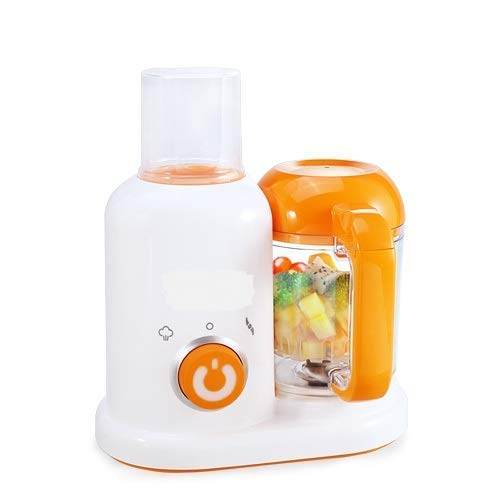 UNIQUE ICON 4 in 1 Homemade Baby Food Cooker, Infant Feeding Blender Puree Processor with Steaming, Blending, Heating and Defrosting Functions Organic Food Tools