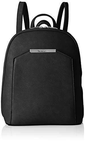 Tamaris Damen Mirela Backpack Rucksackhandtasche, Schwarz (Black) 12x30x24.5 cm