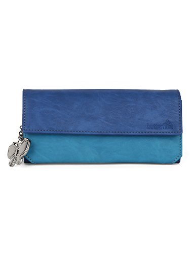 Butterflies Women Wallet (Blue) (BNS 2110BL)  available at amazon for Rs.482