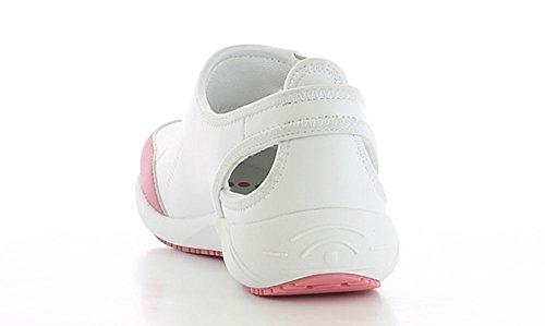 Oxypas Lilia, Chaussures Sécurité Femme Pink (Fux - Fuxia)