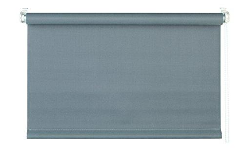 Mydeco® 60 x 160 cm (L x A), colore: grigio, Blind, Nessun foro di fissaggio. Blind-Tenda parasole, con supporti per il fissaggio, e protezione per finestre