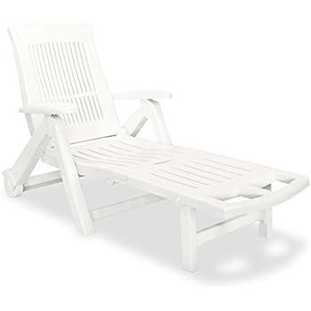 Transat transat chaise longue Zircone De Jardin Chaise Longue Chaise Fauteuil relax chaise longue Rollliege plastique