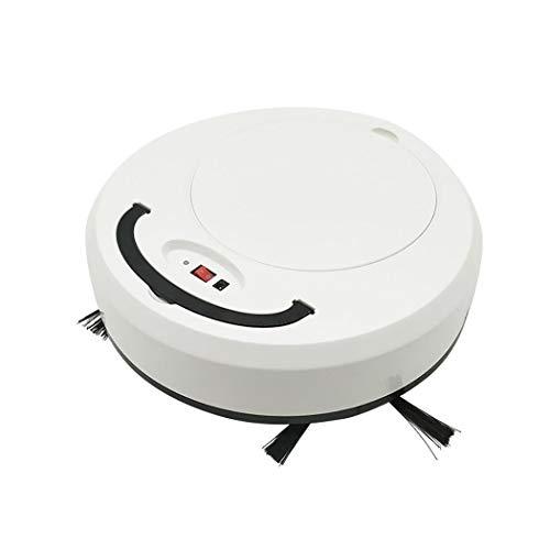 fnemo Robot Aspirapolvere,USB Ricaricabile Domestico Robot Automatico Aspirapolvere Pulizia Pavimenti per Cani Animali Domestici