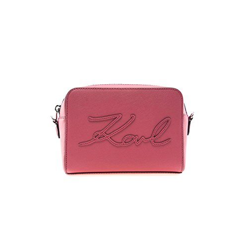 Damen Accessoires Karl Lagerfeld K/Signature Rosa Camera Tasche Frühling-Sommer 2018
