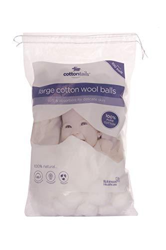 Cottontails Balles – Large – Lot de 100 x 12 paquets
