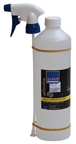 CLEANPRODUCTS Sprüh-Versiegelung 1 Liter - Aufsprühen Abspülen Fertig Zum Versiegeln von Autolack Autofolie Gelcoat GFK Lackversiegelung zur Autoaufbereitung Fahrzeugaufbereitung