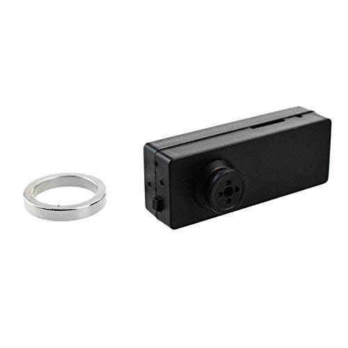 Hochauflösende Mini Knopfkamera 918 HD mit 2.0 Megapixel Spionagekamera Digitalkamera SpyCam Spion, unauffällig Videos aufnehmen, Überwachung und Aufzeichnung