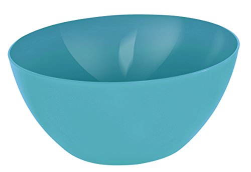 Rotho 1717906112 Bol Grand, Plastique, Aqua-Bleu, 34 cm