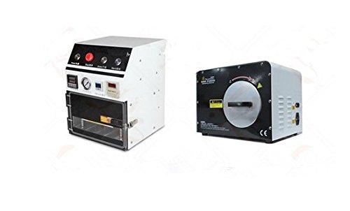 Vakuum-pack-maschine (Gowe OCA Vakuum Laminiergerät mit 3in 1Bubble Defoam Maschine für 17,8cm OCA Kaschierung wirtschaftlichen Pack 220V/110V)