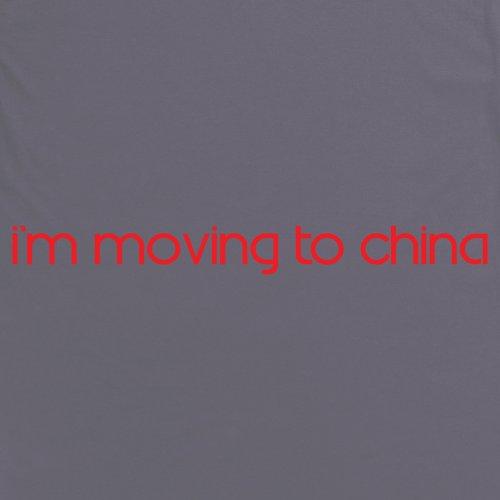Square Mile China T-Shirt, Herren Anthrazit