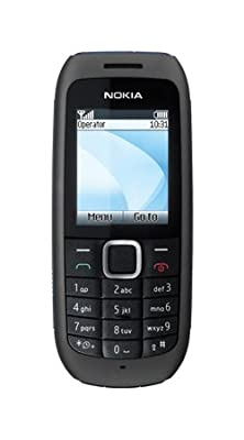 Nokia 1616 Lebara Mobile Phone on Pay as you go / Pre-Pay / PAYG (£10 airtime credit) - Black